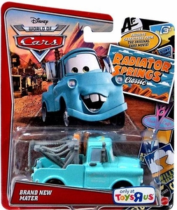 Disney / Pixar World of Cars RADIATOR SPRINGS CLASSIC Exclusive 1:55 Die Cast Car  Brand New Mater