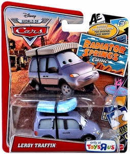 Disney / Pixar WORLD OF CARS Radiator Springs Classic Exclusive 1:55 Die Cast Car Leroy Traffik