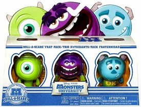 Disney / Pixar Monsters University Roll-a-Scare Frat Pack [Sulley, Mike & Art]