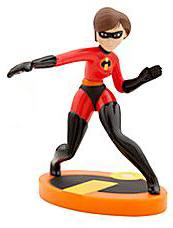 Disney / Pixar The Incredibles Exclusive 3.5 Inch LOOSE PVC Figure Elastigirl