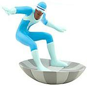 Disney / Pixar The Incredibles Exclusive 3.5 Inch LOOSE PVC Figure Frozone