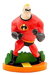 Disney / Pixar The Incredibles Exclusive 3.5 Inch LOOSE PVC Figure Mr. Incredible