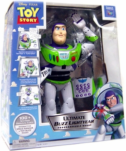 Disney / Pixar Toy Story Action Figure Ultimate Buzz Lightyear Programmable Robot