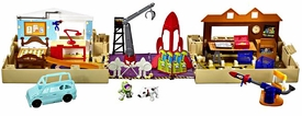 Disney / Pixar Toy Story Movie Playset Town Adventure Pop Open Playworld