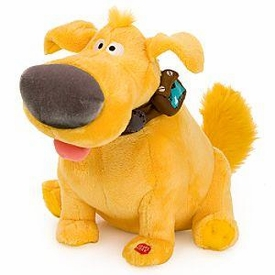 Disney / Pixar Up Movie 11 Inch Talking Plush Figure Dug