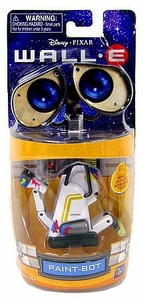 Disney Pixar Wall-E Movie 3 Inch Poseable Mini Figure Paint-Bot