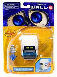 Disney Pixar Wall-E Movie Deluxe Figure Clean 'N Go M-O