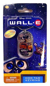 Disney Pixar Wall-E Movie Dog Tag Keyring Wall-E