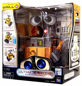 Disney Pixar Wall-E Movie Exclusive 16 Inch Programmable Robot Ultimate Wall-E