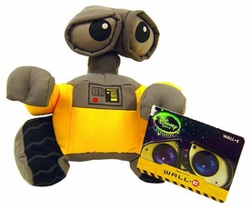 Disney Pixar Wall-E Movie Exclusive 5 Inch Mini Plush Wall-e