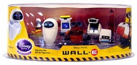 Disney Pixar Wall-E Movie Exclusive 6 Piece PVC Mini Figure Collector Set