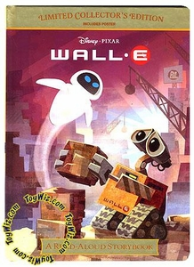 Disney Pixar Wall-E Movie Limited Collector's Edition Read-Aloud Storybook