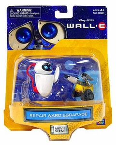 Disney Pixar Wall-E Movie Scene Mini Figure 2-Pack Repair Ward Escapade