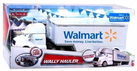Disney / Pixar World of Cars Exclusive 1:55 Die Cast Car Wally Hauler