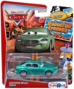 Disney / Pixar World of Cars Radiator Springs Classic Exclusive 1:55 Die Cast Car Costanzo Della Corsa