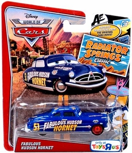 Disney / Pixar WORLD OF CARS Radiator Springs Classic Exclusive 1:55 Die Cast Car Fabulous Hudson Hornet Hot!