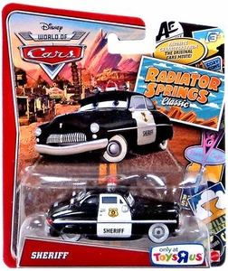 Disney / Pixar WORLD OF CARS Radiator Springs Classic Exclusive 1:55 Die Cast Car Sheriff