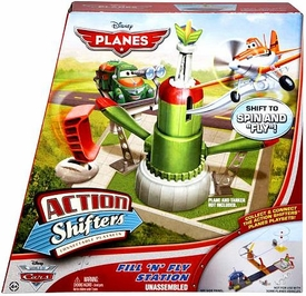 Disney PLANES Action Shifters Playset Fill 'N' Fly Station