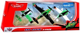 Disney PLANES Exclusive 1:55 Die Cast 3-Pack Sky Flyin' [Ripslinger, Ned & Zed]