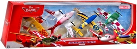 Disney PLANES Exclusive 1:55 Die Cast 4-Pack International Racers [Sun Wing, Jan Kowalski, Gunnar Viking & Rochelle]