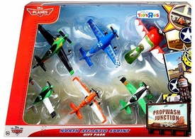 Disney PLANES Exclusive Propwash Junction 1:55 Die Cast 6-Pack North Atlantic Sprint [Zed, Arturo, Ned, Qualifying Dusty Crophopper, Ripslinger & El Chupacabra]