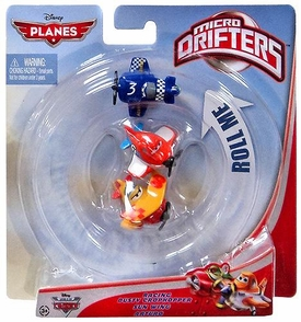 Disney PLANES Micro Drifters 3-Pack Racing Dusty Crophopper, Sun Wing & Arturo