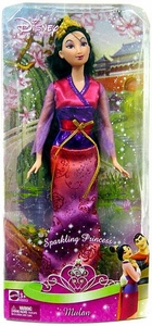 Disney Princess 12 Inch Sparkling Princess Mulan