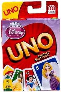 Disney Princess Card Game UNO