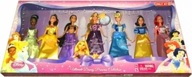 Disney Princess Exclusive Doll Figure 7-Pack Ultimate Disney Princess Collection