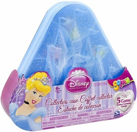 Disney Princess Gomu Eraser Collectors Case [Includes 5 Princess Erasers!]