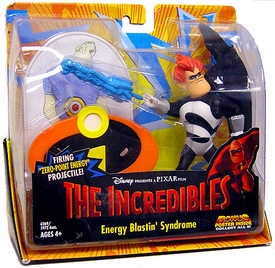 Disney's The Incredibles Energy Blastin' Syndrome Deluxe Action Figure