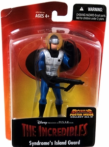 Disney's The Incredibles Syndrome's Island Guard Action Figure