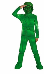 Disney's Toy Story #11362 Deluxe Costume Green Army Man [Child]