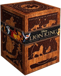 Disney The Lion King Trilogy 3-Movie Collection 8-Disc Blu-Ray DVD Combo