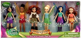 Disney Pirate Fairy Exclusive 5 Inch Fairies Doll 6-Pack [Vidia, Iridessa, Zarina, Tinker Bell, Silvermist & Rosetta]