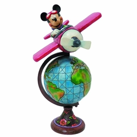 Disney Traditions Statue Globetrotting Mickey  Pre-Order ships September