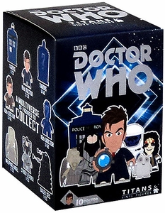 Doctor Who 2013 San Diego Comic-Con Exclusive Titans Vinyl Mini Figure 10th Doctor in Tuxedo