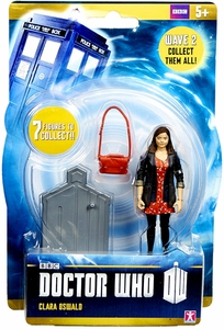 Doctor Who 3.75 Inch Series 2 Action Figure Clara [Red Dress]