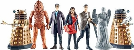 Doctor Who 3.75 Inch Series 2 Set of 7 Action Figures