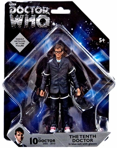 Doctor Who 5 Inch Action Figure 10th Doctor [Blue Suit] New!