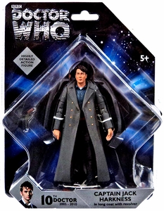 Doctor Who 5 Inch Action Figure Captain Jack Harkness New!