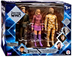 Doctor Who Action Figure Set Claws of Axos New!