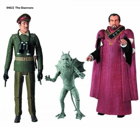 Doctor Who Action Figure Set The Daemons