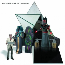 Doctor Who Bif Bang Pow! Action Figure Collection Set Pyramids of Mars