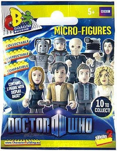 Doctor Who Character Building Series 2 Micro-Figure Mystery Pack [1 Random Figure]