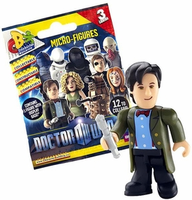 Doctor Who Character Building Series 3 Micro-Figure Mystery Pack [1 Random Figure]