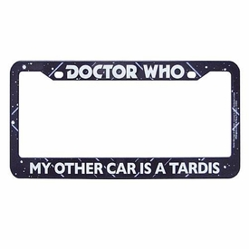 Doctor Who License Plate Frame [