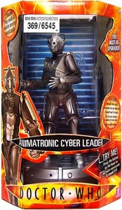 Doctor Who Underground Toys 9 Inch Animatronic Figure Cyberman Leader