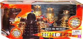 Doctor Who Underground Toys Genesis Ark and Daleks Gift Set