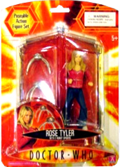 Doctor Who Underground Toys Series 1 Action Figure Rose with Robot Spiders